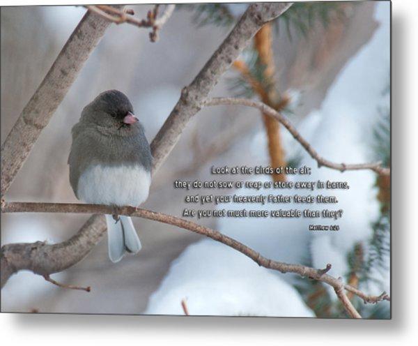 Birds Of The Air Metal Print
