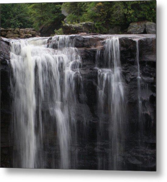 Black Water Falls Wv Metal Print by Jean Haynes