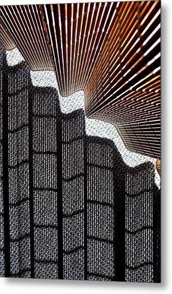 Blind Shadows Abstract I Metal Print