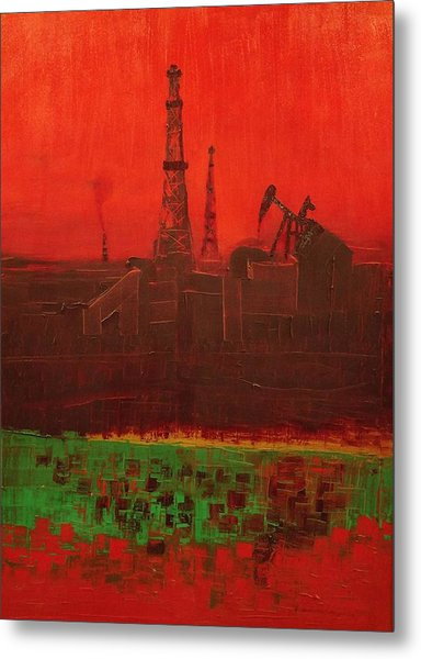 Blood Of Mother Earth Metal Print