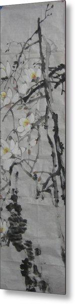 Blossoms Metal Print by Min Wang