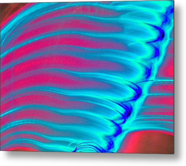 Blue Flame Metal Print by Phil Powers