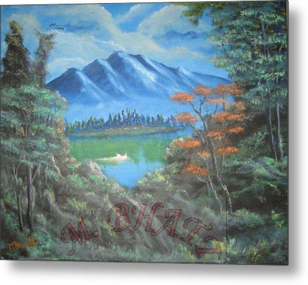 Blue Mountains Metal Print by M Bhatt