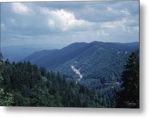 Blue Ridge Mountains 2 Metal Print