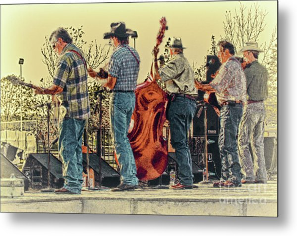 Bluegrass Evening Metal Print