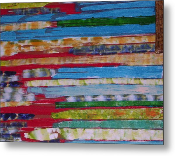 Blues In Transition Metal Print by Russell Simmons