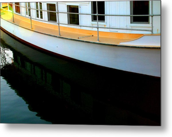 Boat  Reflection - Image 5 - Ver. 2 Metal Print