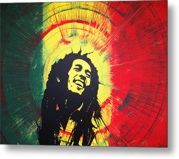 Bob Marley Metal Print by Lance Bifoss