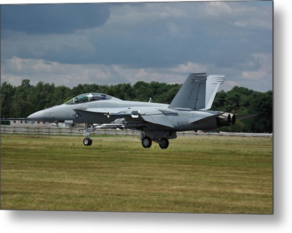 Boeing Super Hornet  Metal Print