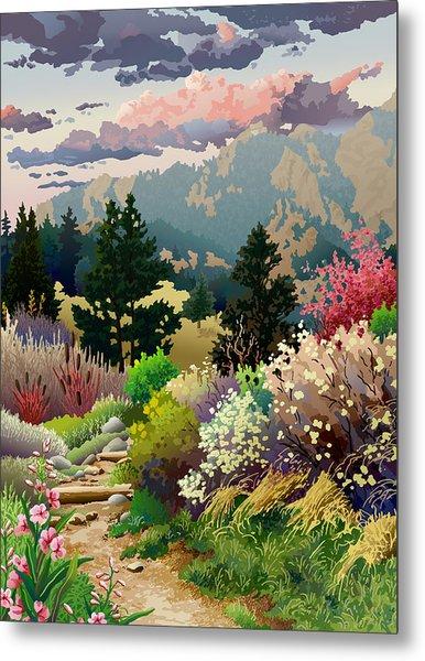Bolder Boulder 10k Poster 2007 Metal Print