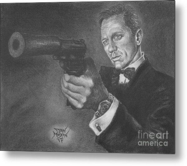 Bond Portrait Number 3 Metal Print