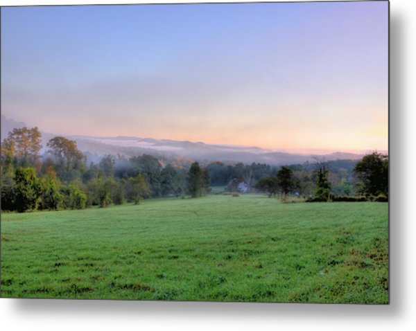 Bonnyvale Field Metal Print