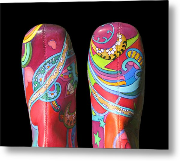 Boogie Shoes 2 Metal Print by Mary Johnson