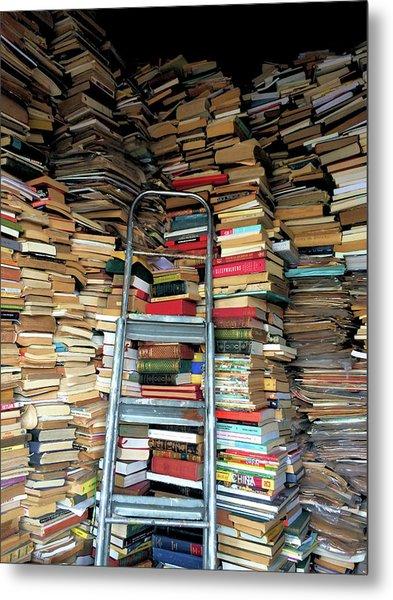 Books For Sale Metal Print