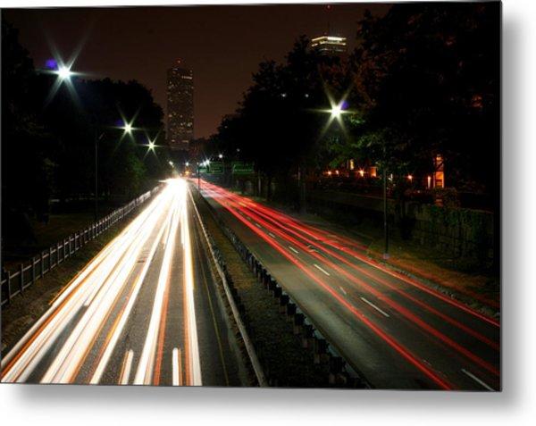 Boston Highway Metal Print by Jason Hochman