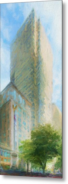 Boston Private Bank At Post Office Square Metal Print