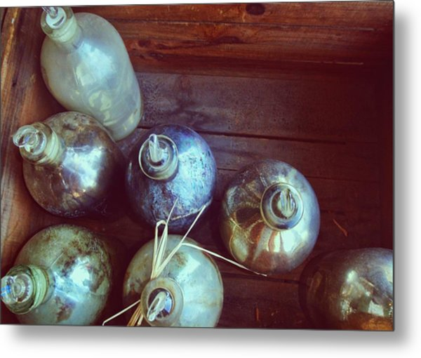 Bottled Time Metal Print by JAMART Photography