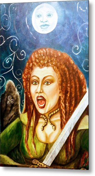 Boudicca  Let Not Our Daughters Be Forgotten Metal Print
