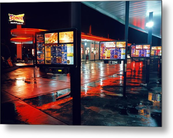 Bowling Green Sonic Drive-in Metal Print