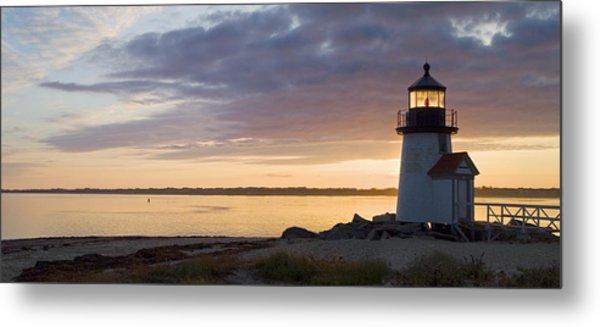 Brant Point Dawn - Nantucket Metal Print