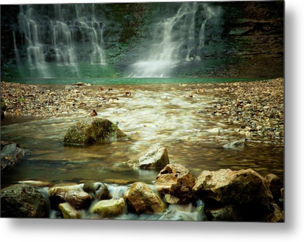 Break Of Silence Metal Print