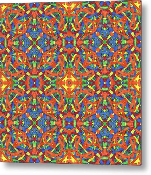 Brexit - Multi Pattern Metal Print