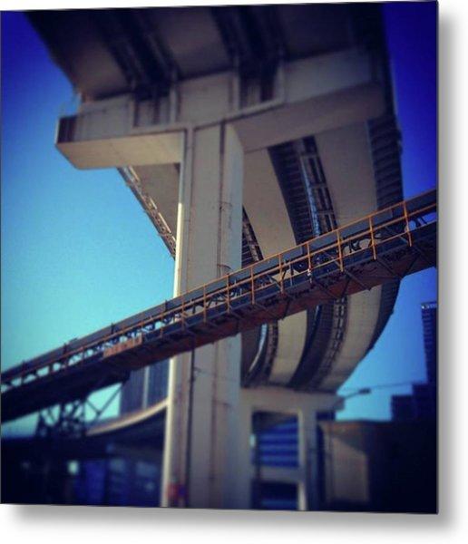 #bridge #橋 #actcute Metal Print by Bow Sanpo