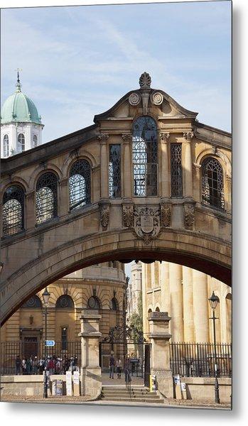 Bridge Of Sighs Oxford Metal Print