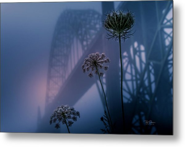 Bridge Scape Metal Print