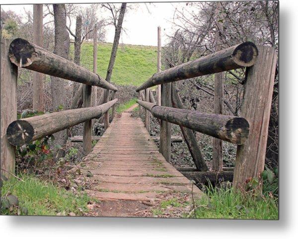 Bridge To E Metal Print by M Ryan