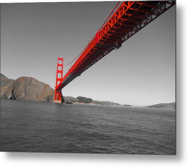 Bridgeworks Metal Print