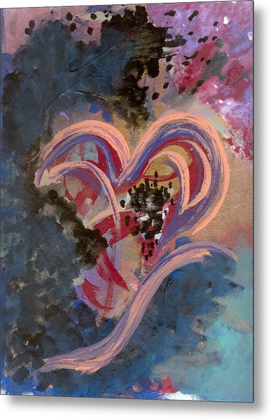 Broken Hearted Metal Print by Helene Henderson