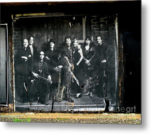 Bruce And The E Street Band Metal Print