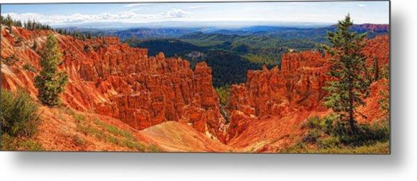 Bryce Canyon Panorama Metal Print