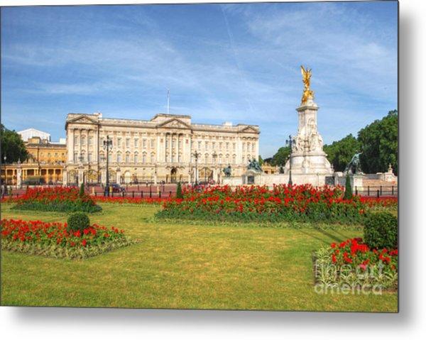 Buckingham Palace And Garden Metal Print