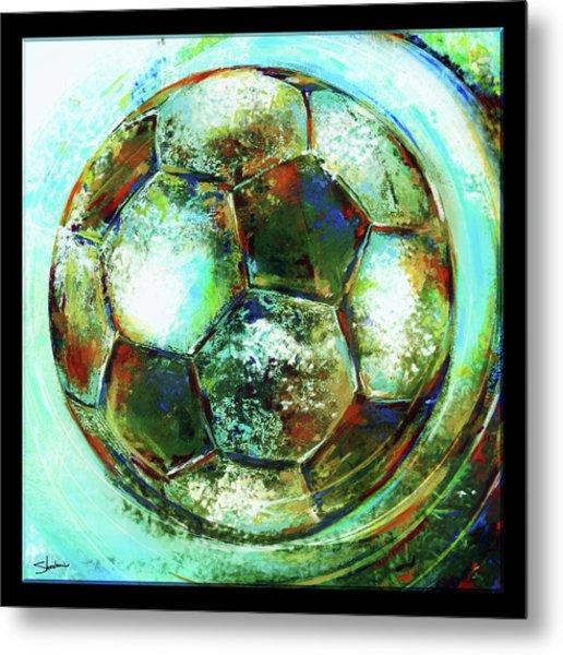 Buckminster Metal Print by Shevon Johnson