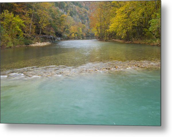 Buffalo River - 4589 Metal Print