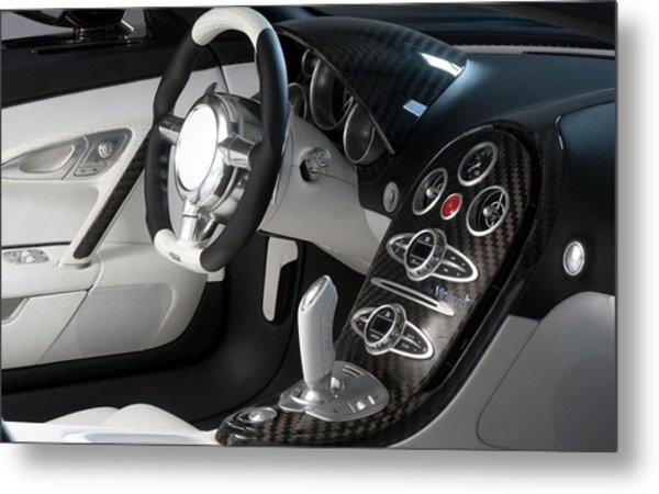 Bugatti Veyron 16.4 Grand Sport Metal Print