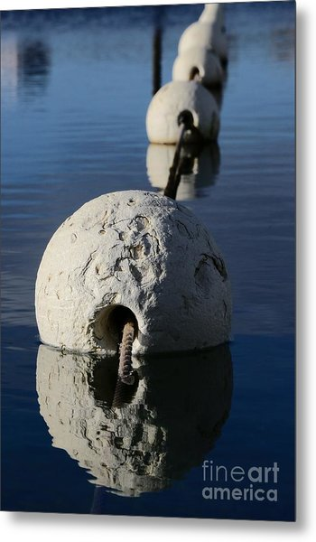 Metal Print featuring the photograph Buoy In Detail by Stephen Mitchell