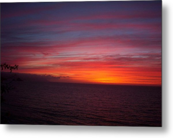 Burning Sky 2 Metal Print by James Johnstone