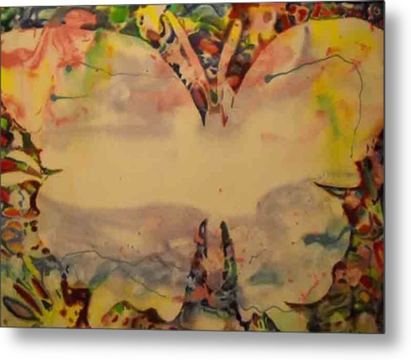 Butter Fly 2 Metal Print