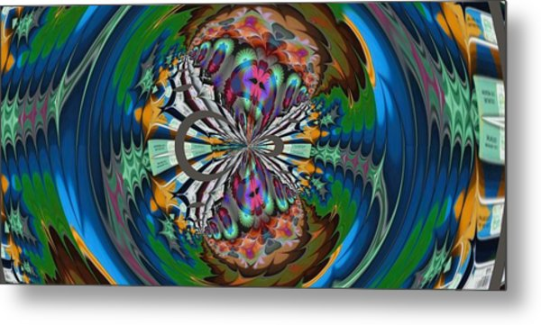 Butterfly Metal Print by Nancy Forever