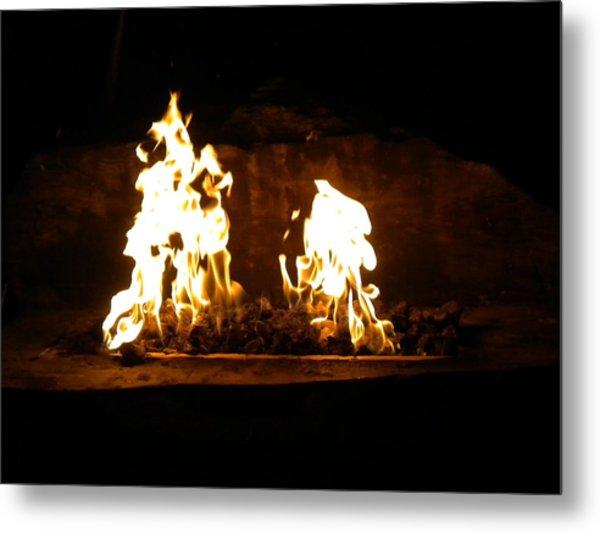 Cabana Fire  Metal Print