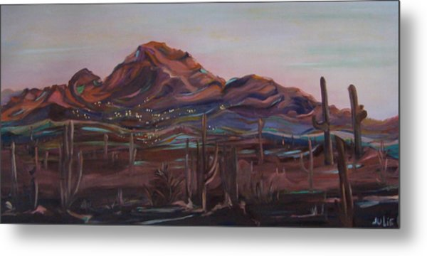 Camelback Mountain Metal Print