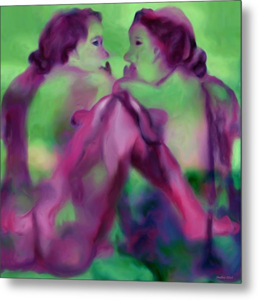 Can We Be But Lovers Metal Print
