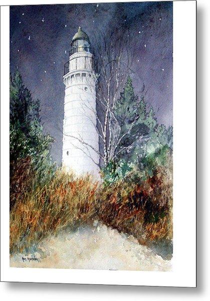 Cana Island Light House Metal Print