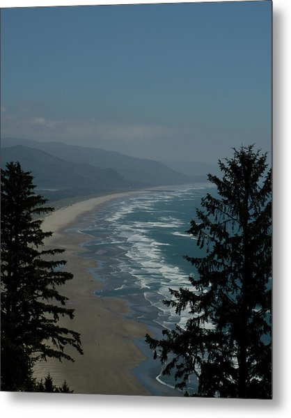 Cannon Beach Vista Metal Print