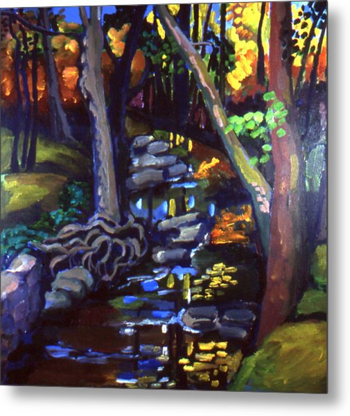 Canterbury Road Runoff Stream  Metal Print