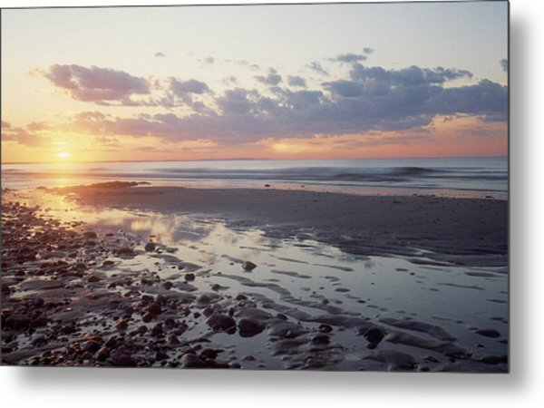 Cape Cod Sunset Metal Print