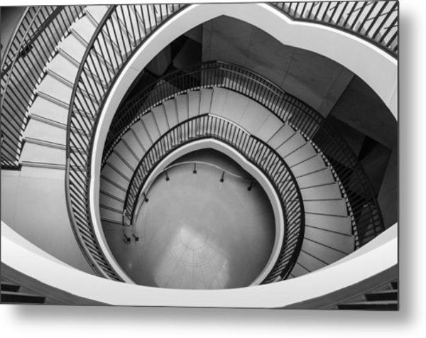 Capitol Stairs Metal Print